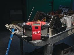 Kompaktiška statybų aikštelės radija C12 JSR-0