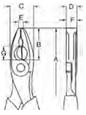 BAHCO Kombinuotos Replės 180 mm S-Line