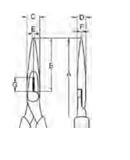 BAHCO Prailgintos Replės 200 Mm S-Line