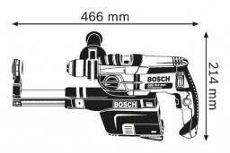 Smūginis gręžtuvas BOSCH GSB 19-2 REA
