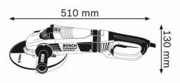 Kampinio šlifavimo mašina BOSCH GWS 26-180 LVI