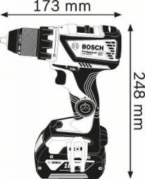Akumuliatorinis gręžtuvas-suktuvas BOSCH GSR 18 V - 60 C