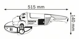 Kampinis šlifuoklis BOSCH GWS 22-230 JH