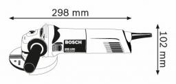 Kampinis šlifuoklis BOSCH GWS 1400